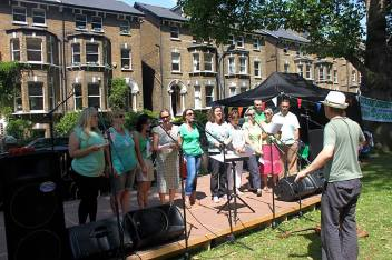 goose green choir